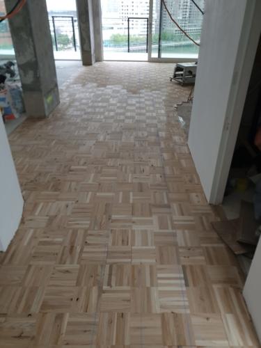 3D patroon mozaïek ondervloer Parket Life